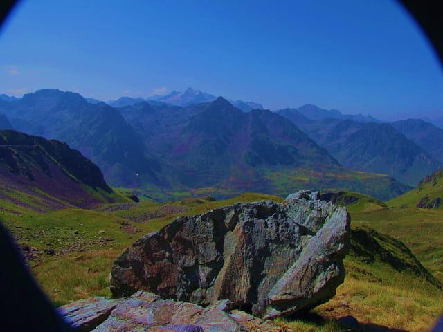 Panorama de montagne.