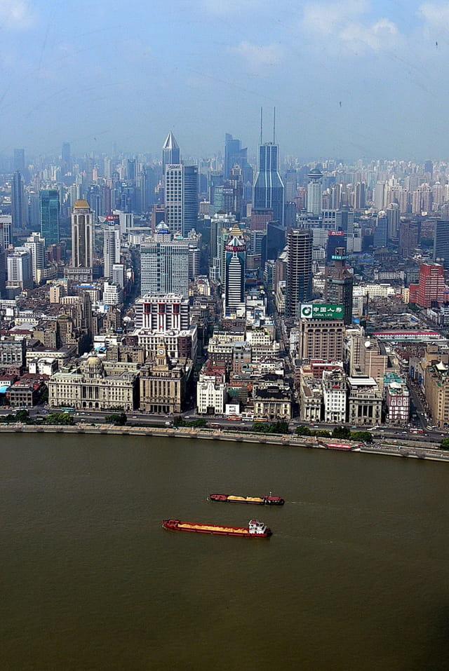 Panorama de Shanghai