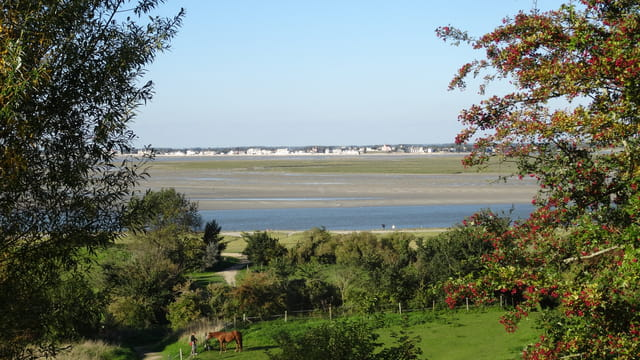 Panorama sur Le Crotoy