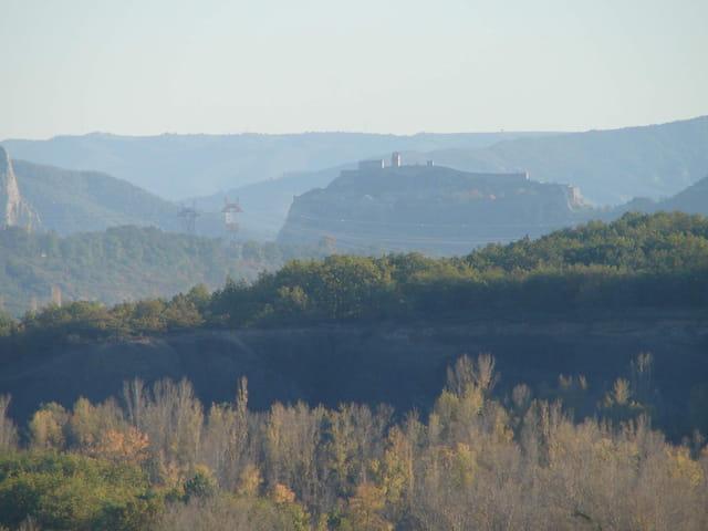 Panorama sur sisteron
