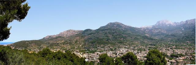 Panorama sur Soller