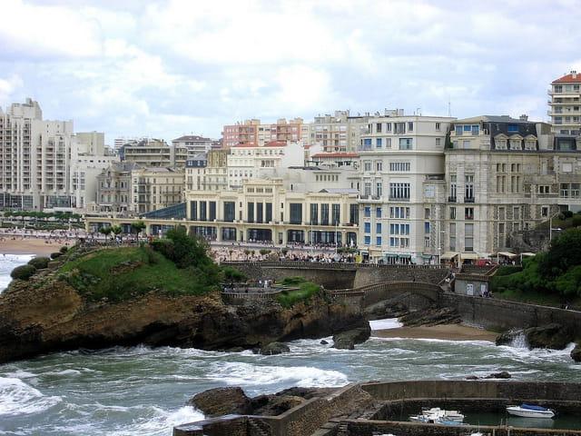 Panoramique casino et plages