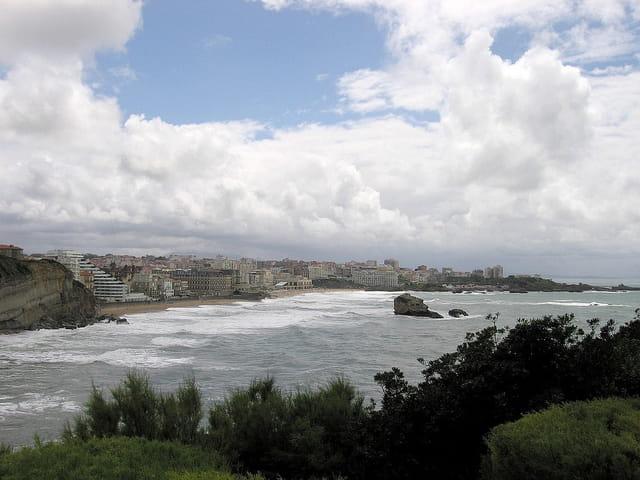 Panoramique de Biarritz