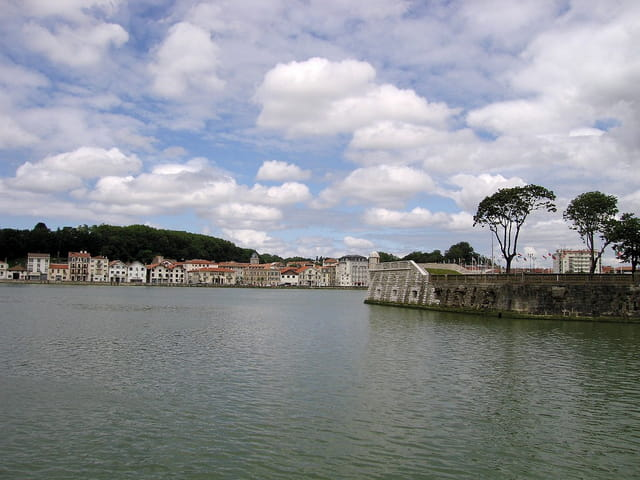 Panoramique de la baie
