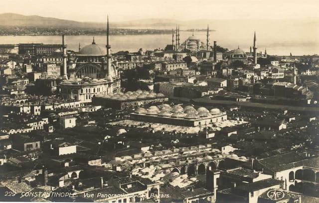 Panoramique des bazards