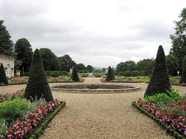 Panoramique des jardins