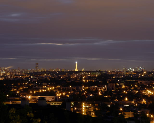 Panoramique Paris de Nuit