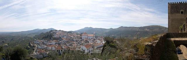 Panoramique sur la ville