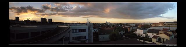 Panoramique sur le 92