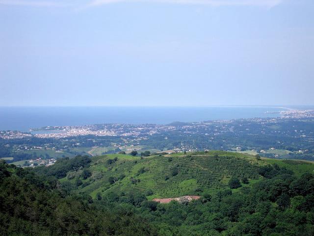 Panoramique vers St.Jean de Luz