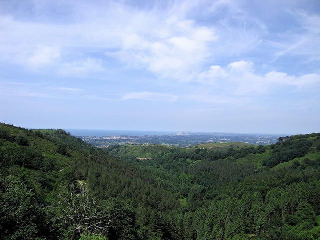 Panoramique vers Saint-Jean-de-Luz