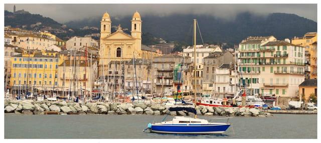 Panoramique vieux port bastia par charles lucchini sur l - Vieux port bastia ...
