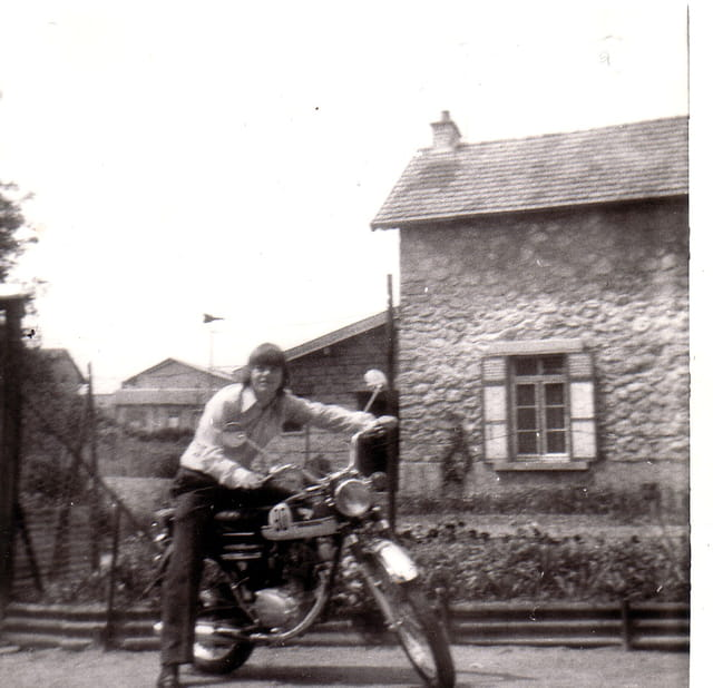 Papa bikers de 1968