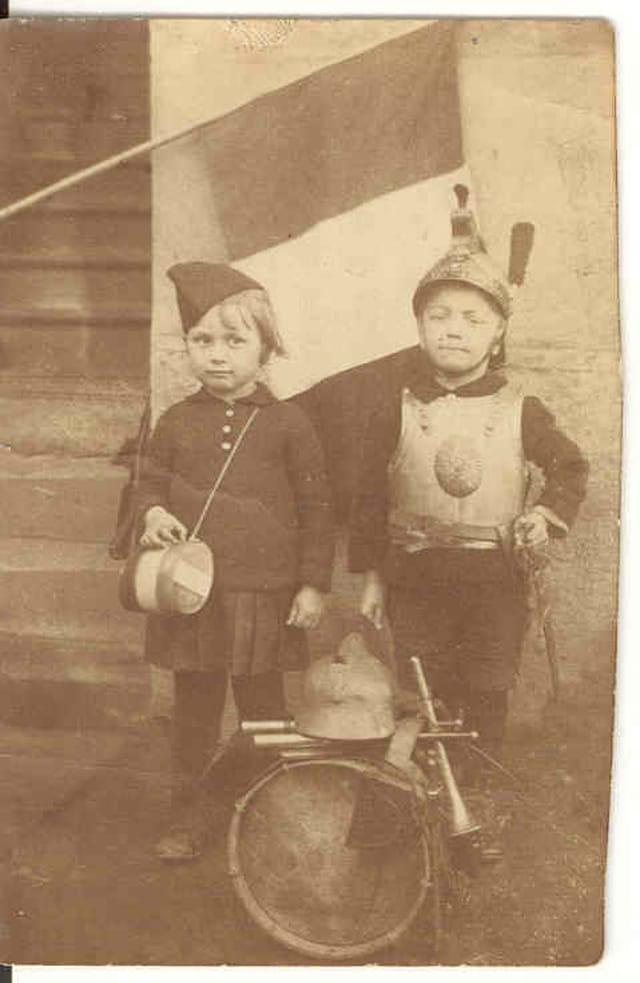Papa et sa cousine