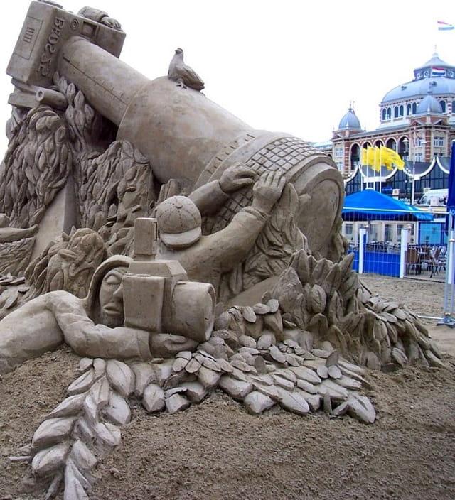Paparazzi en sable