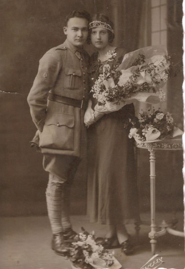 Papy et Mamy le Mariage 22/04/1933