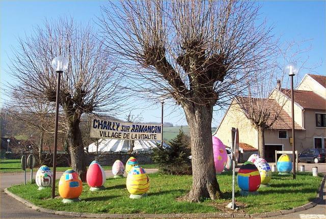 Pâques; la fête des oeufs