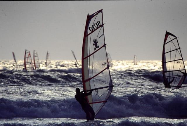 Par vent de sud-est