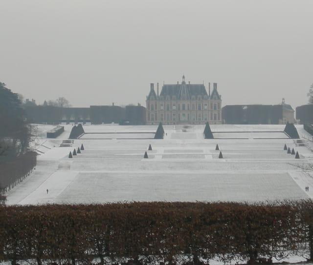 Parc de Sceaux en hiver