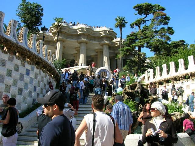 Parc Güell  Barcelone