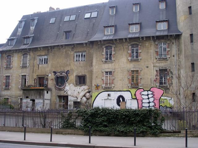 Paris, rue Neuve Tolbiac