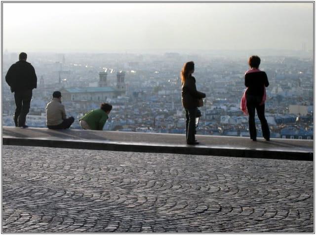 Paris à leurs pieds