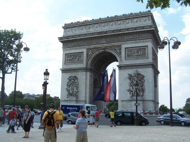 PARIS - Arc de Triomphe.
