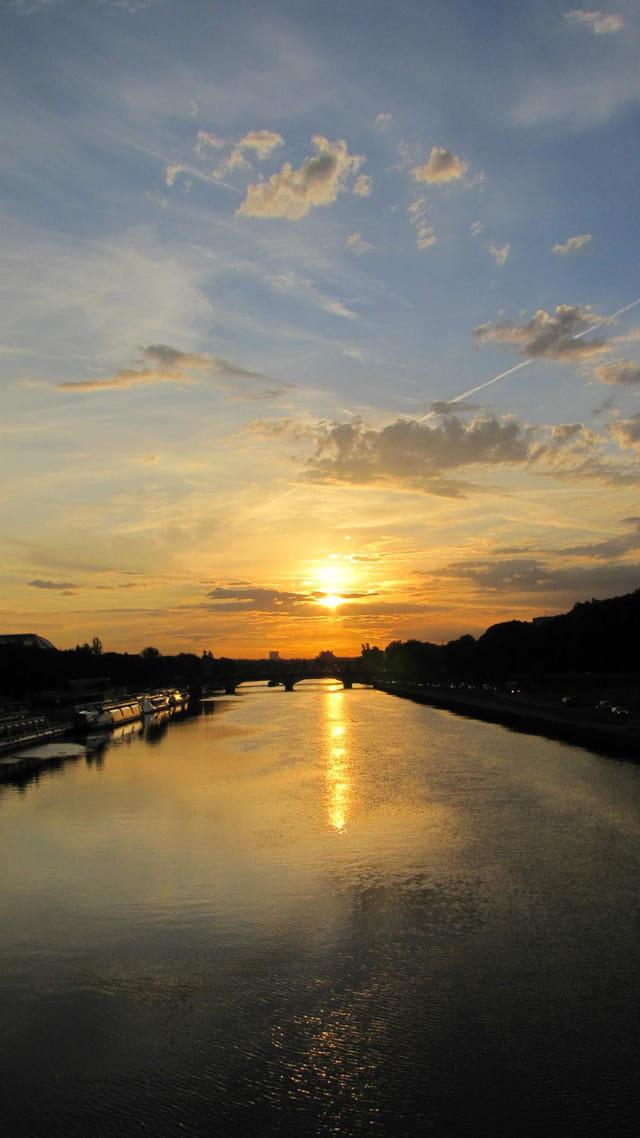 Paris au lever du jour - Septembre 2011