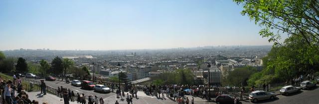 Paris depuis Monmartre