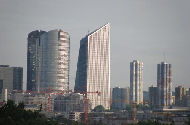Paris-La Défense vue d'Argenteuil