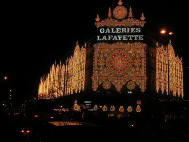 Paris la nuit de noël