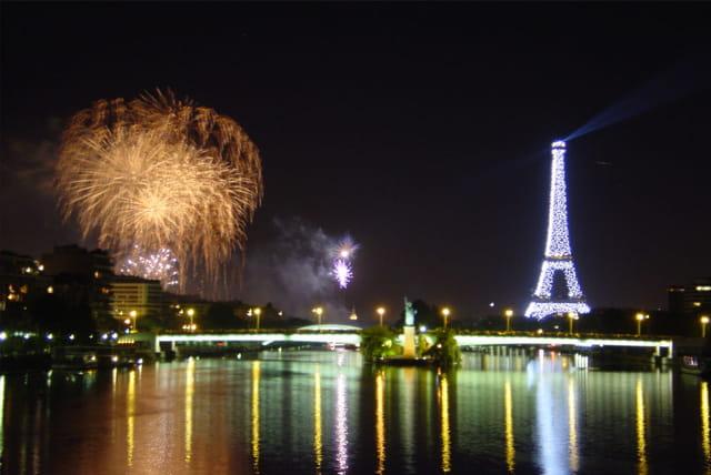 Paris, le soir du 14 juillet 2003