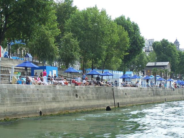 Paris-Plage sur bords de Seine