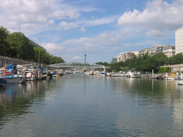 Paris, port de l'arsenal