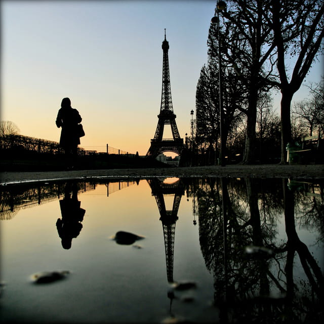Paris reflet