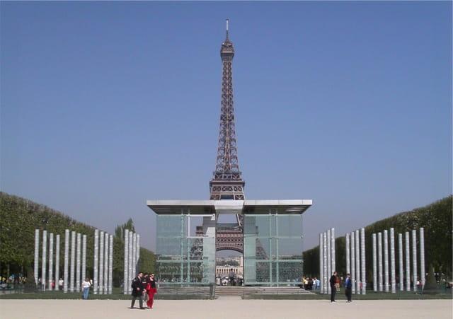 Paris tour eiffel & mur de la paix