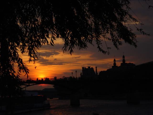 Paris, un soir d'Aout