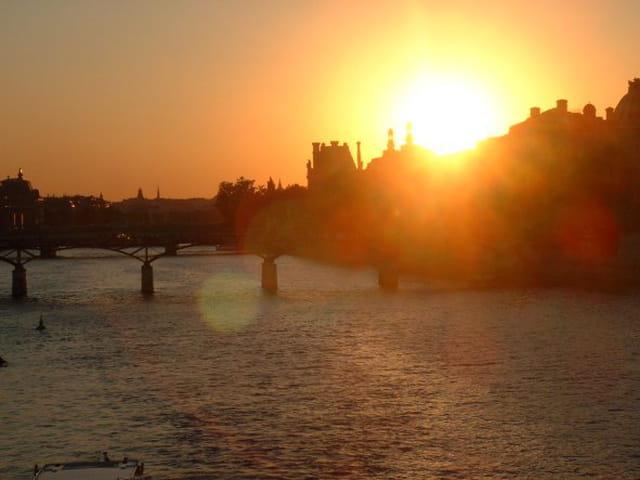 Paris, une ville paisible