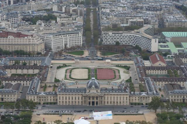 Paris vu de haut