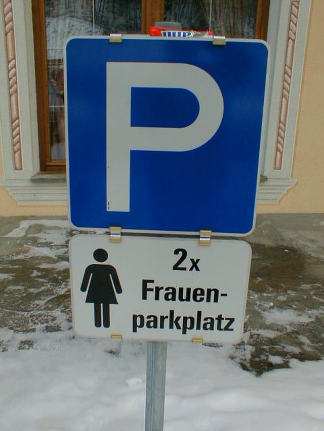 Parking pour femme