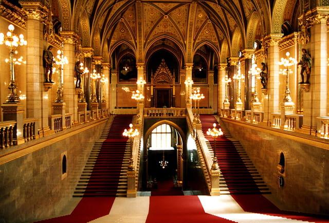 Parlement budapest (intérieur)