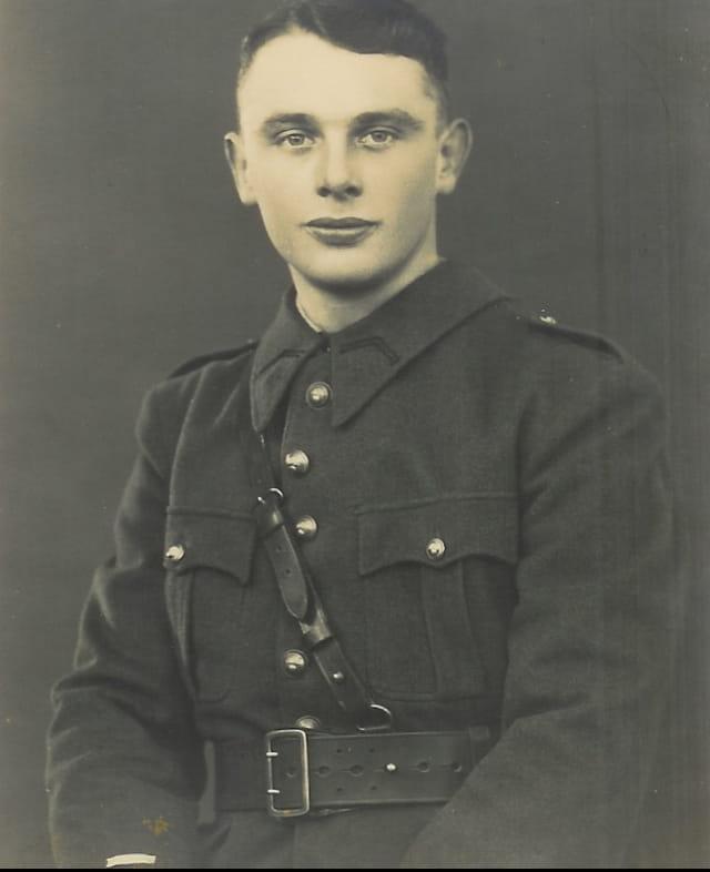 Parrain Daniel militaire en 1940