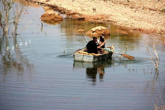 Partei de pêche au lac