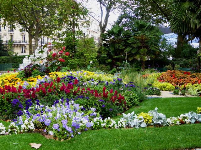 Parterre de fleurs - Square Boucicaut - 2