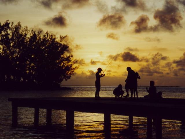 Partie de pêche à Moorea
