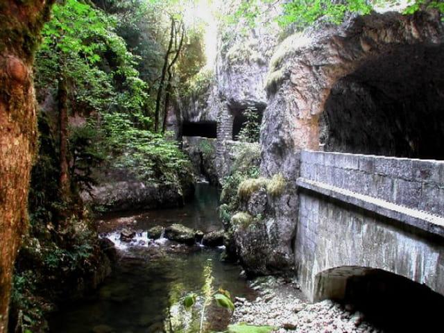 Passage en tunnel