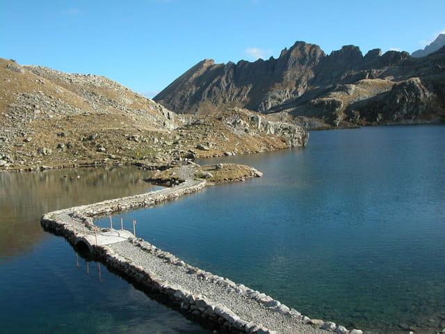 Passage : Lac de la motte