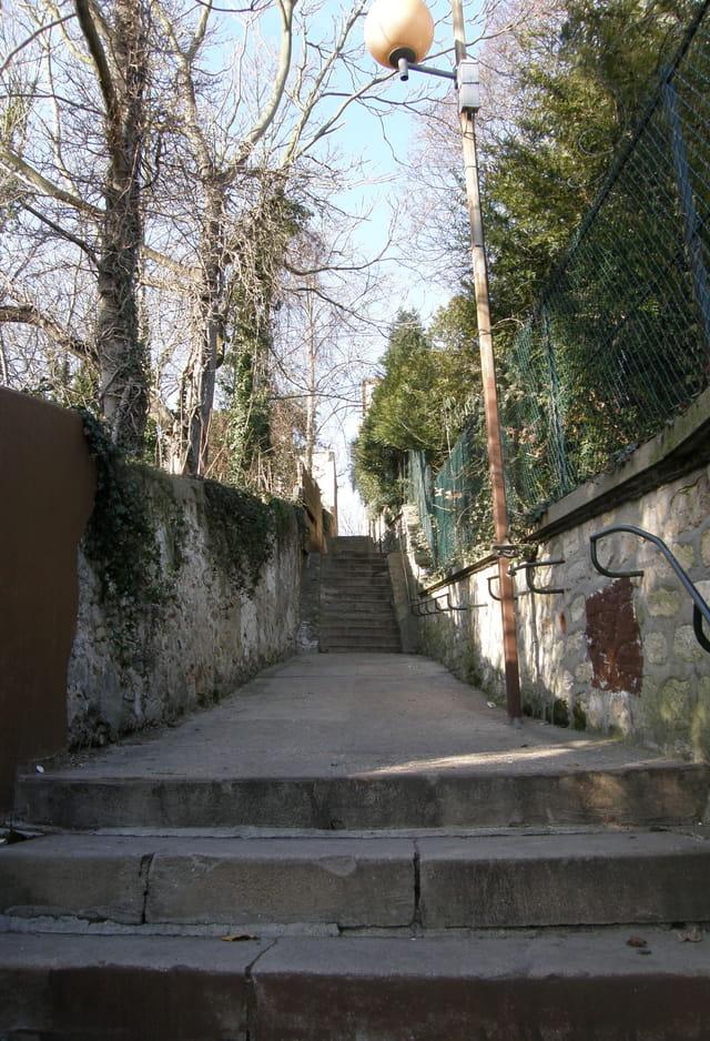 Passage venant de l'Ermitage au Pecq