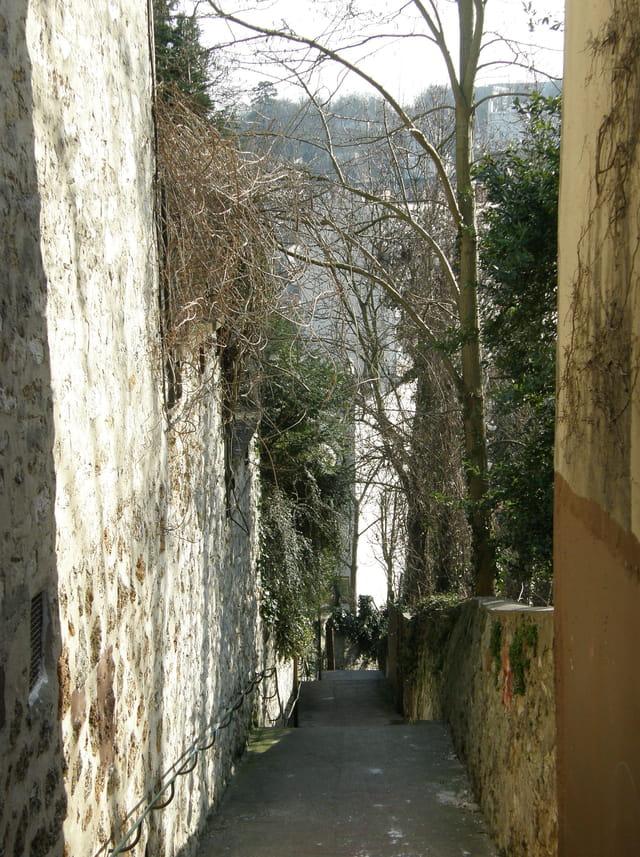 Passage vers l'Ermitage au Pecq