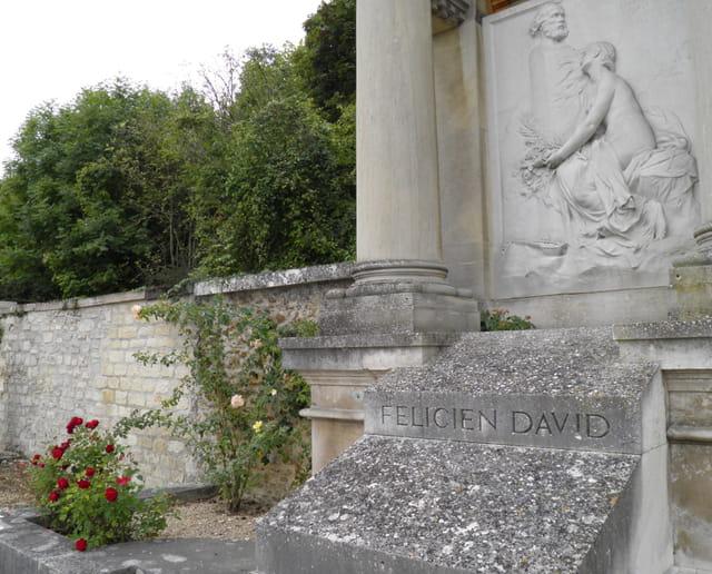 Patrimoine alpicois :  le Mausolée de Félicien David (3)
